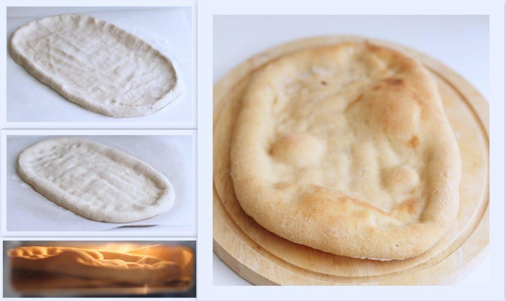 Pizza senza glutine con fichi e prosciutto crudo - La Cassata Celiaca