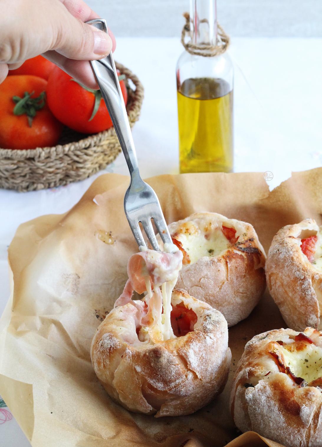 Cestini di pomodoro senza glutine - La Cassata Celiaca