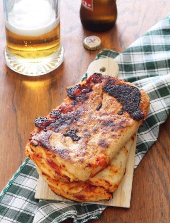 Scaccia senza glutine con pomodoro e formaggio - La Cassata Celiaca