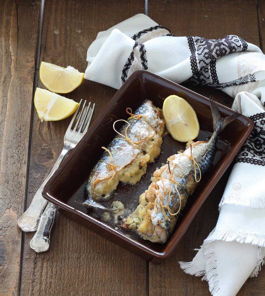 Sgombri ripieni senza glutine - La Cassata Celiaca