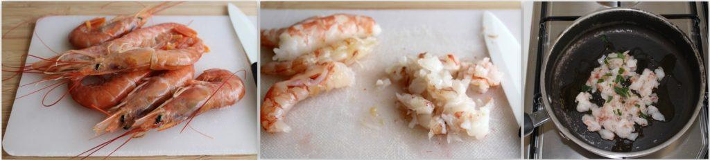 Raviolis de pommes de terre avec ragoût de poisson - La Cassata Celiaca