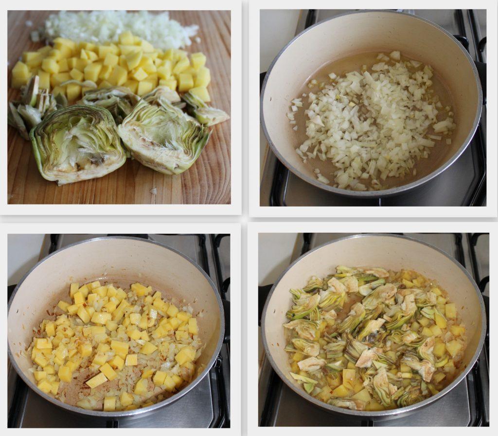 Strudel d'artichauts et pommes de terre sans gluten - La Cassata Celiaca