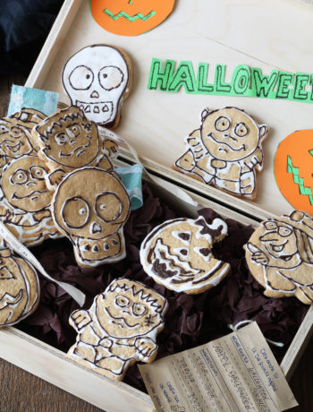 Biscuits sans gluten pour Halloween - La Cassata Celiaca