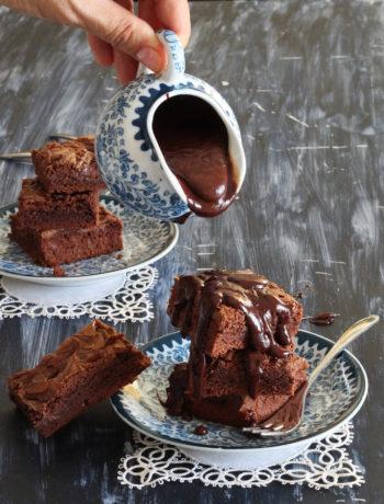 Brownie sans gluten au Nutella - La Cassata Celiaca