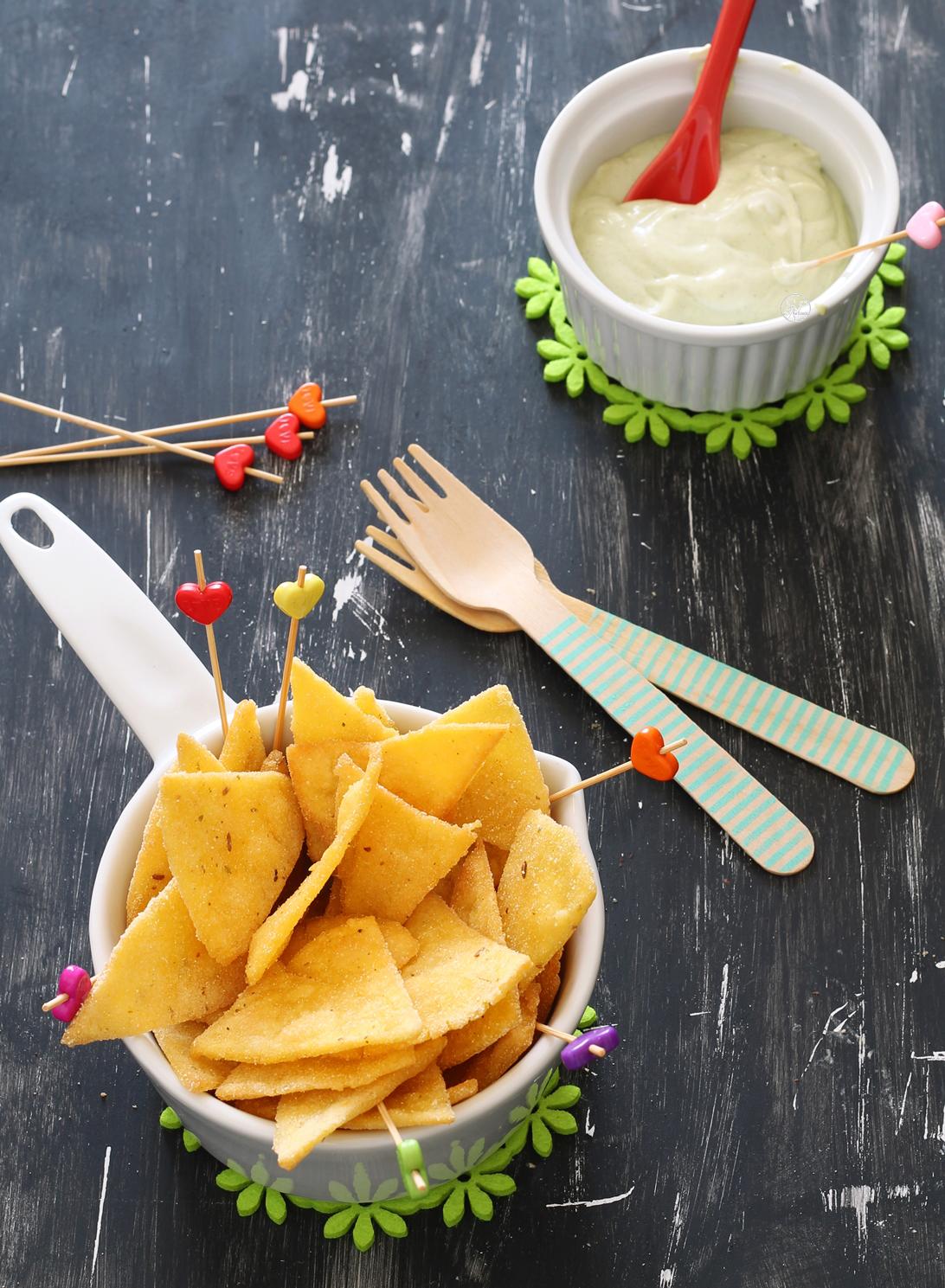 Nachos sans gluten - La Cassata Celiaca