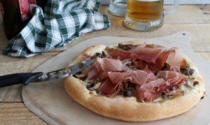 Pizza tyrolienne sans gluten - La Cassata Celiaca