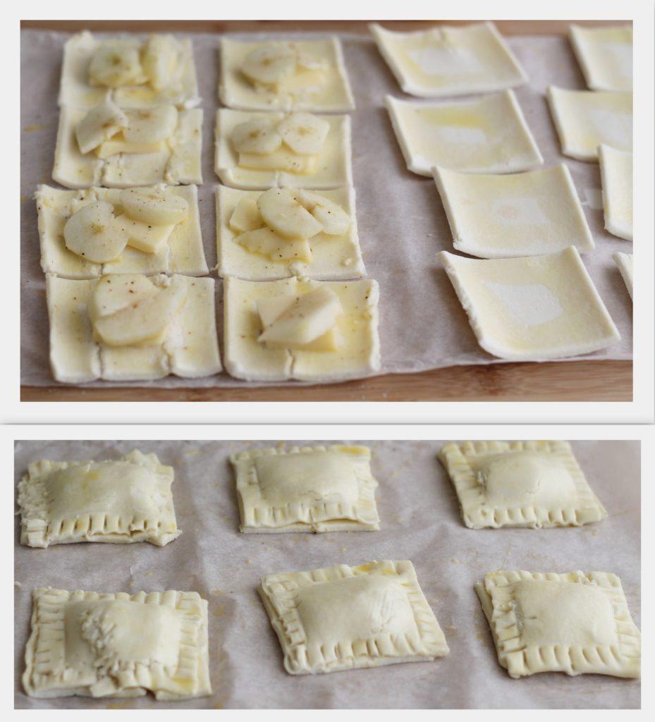 Feuilletés sans gluten avec fromage et poires - La Cassata Celiaca