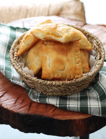 Sfogliatine senza glutine con pere e fontina - La Cassata Celiaca