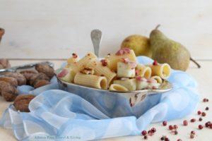Salade de pâtes avec poires sans gluten - La Cassata Celiaca