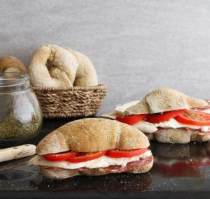 Cornetti di pane senza glutine alla canapa - La Cassata Celiaca