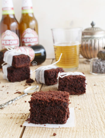 Brownie à la bière Peroni Sans Gluten - La Cassata Celiaca