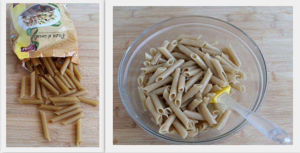Gratin de pennettes avec blettes et noix - La Cassata Celiaca