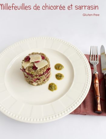 Millefeuille de chicorée et sarrasin sans gluten - La Cassata