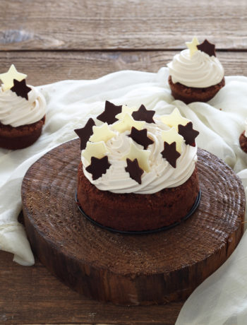 Cake au chocolat et sa namelaka au caramel - La Cassata Celiaca