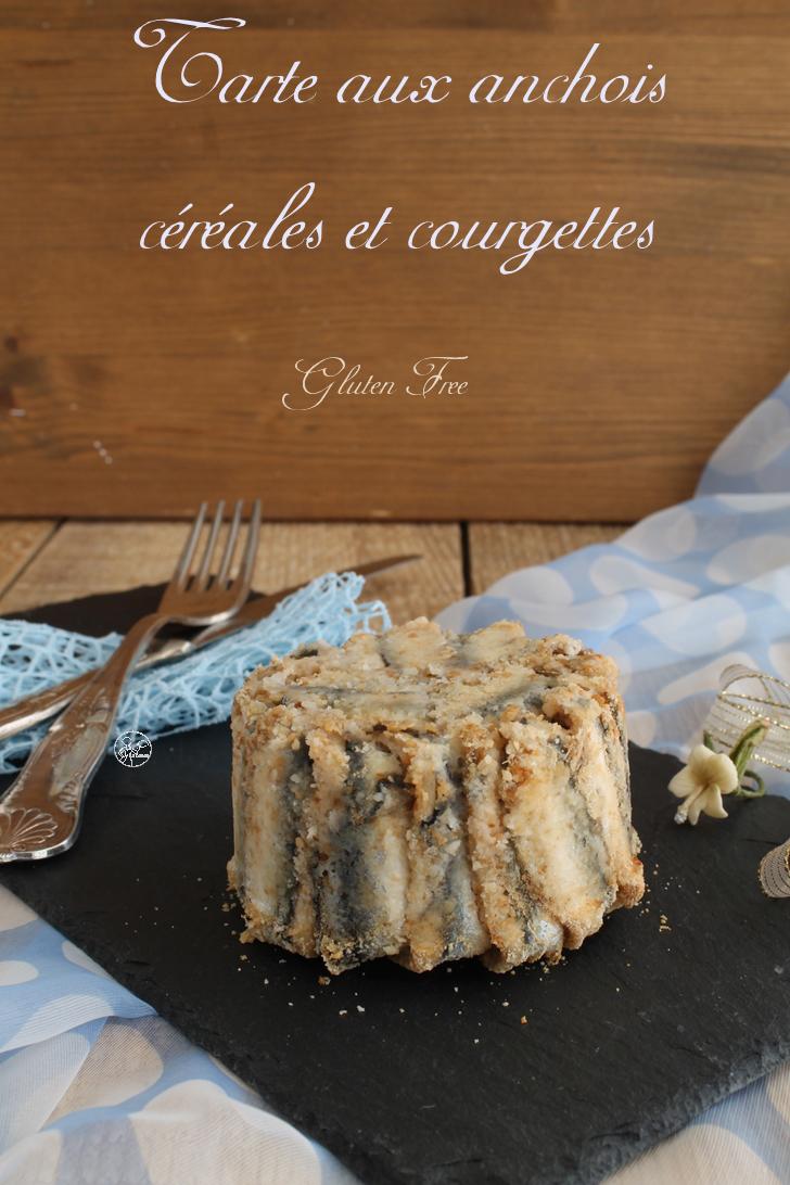 Tarte aux anchois, céréales et courgettes - La Cassata Celiaca