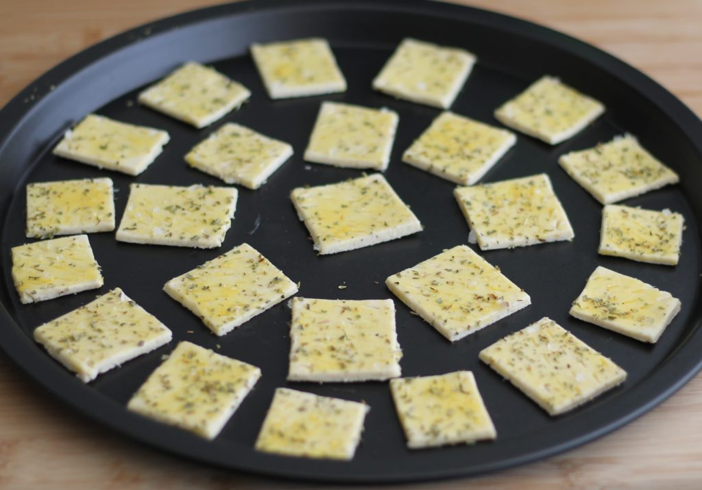 Crackers sans gluten à l'origan - La Cassata Celiaca