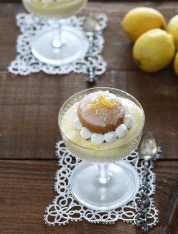 Choux avec chiboust au citron sans gluten - La Cassata Celiaca
