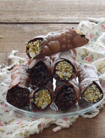 Cannoli siciliani senza glutine, la video ricetta - La Cassata Celiaca