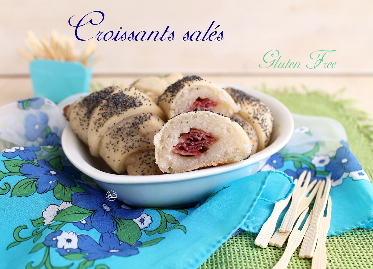 Croissants salés sans gluten - La Cassata