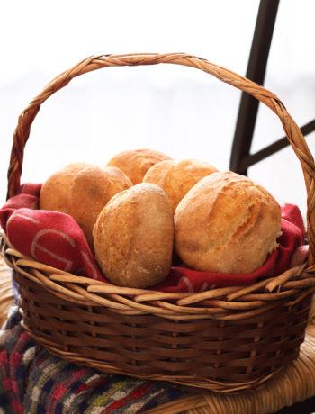 Petits pains sans gluten au levain et avec farine de lentilles - La Cassata Celiaca