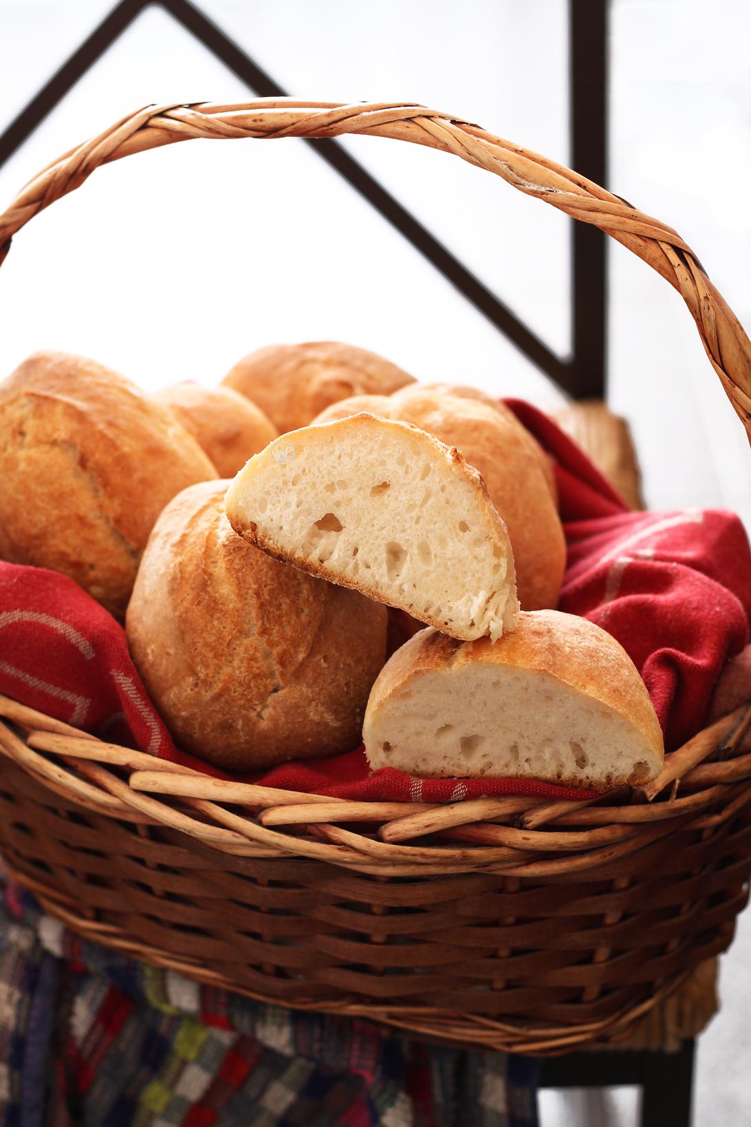 Panini senza glutine con lievito madre e farina di lenticchie - La Cassata Celiaca