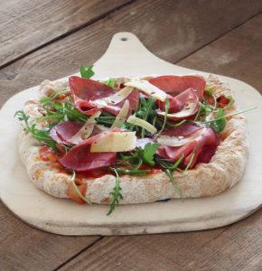 Pizza carrée sans gluten aux bords fourrés - La Cassata Celiaca