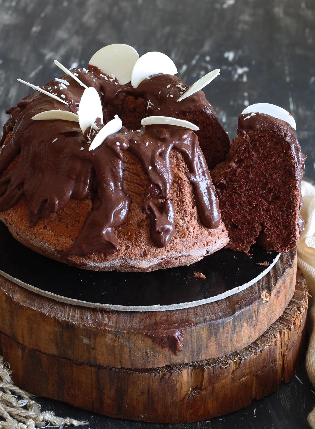 Ciambella al cacao senza glutine - La Cassata Celiaca