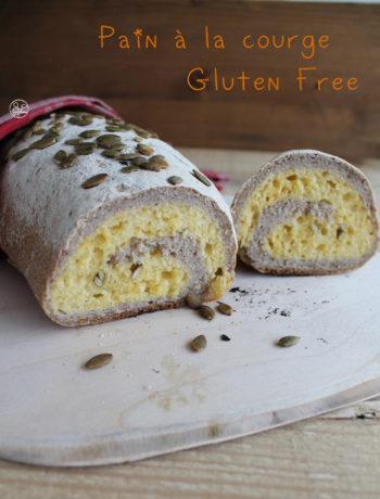 Pain à la courge sans gluten - La Cassata Celiaca