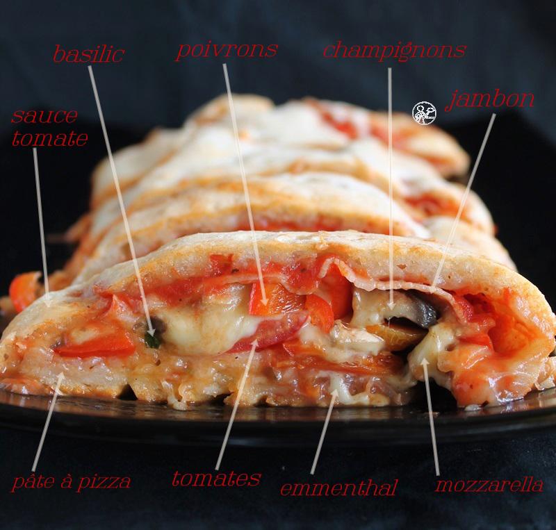 Pizza Stromboli sans gluten - La Cassata Celiaca