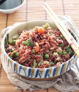 Riso rosso alla cantonese senza glutine - La Cassata Celiaca