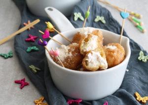 Beignets salés sans gluten - La Cassata Celiaca