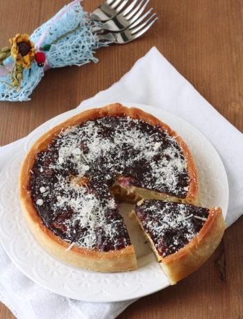 Torta salata senza glutine con zucca e patate - La Cassata Celiaca