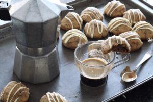 Biscuits sans gluten avec crème au café - La Cassata Celiaca