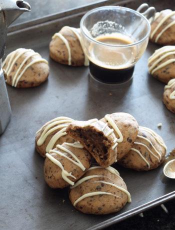 Biscotti senza glutine con crema al caffè - La Cassata Celiaca