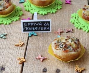 Tartelettes de pâte feuilletée sans gluten avec légumes - La Cassata Celiaca