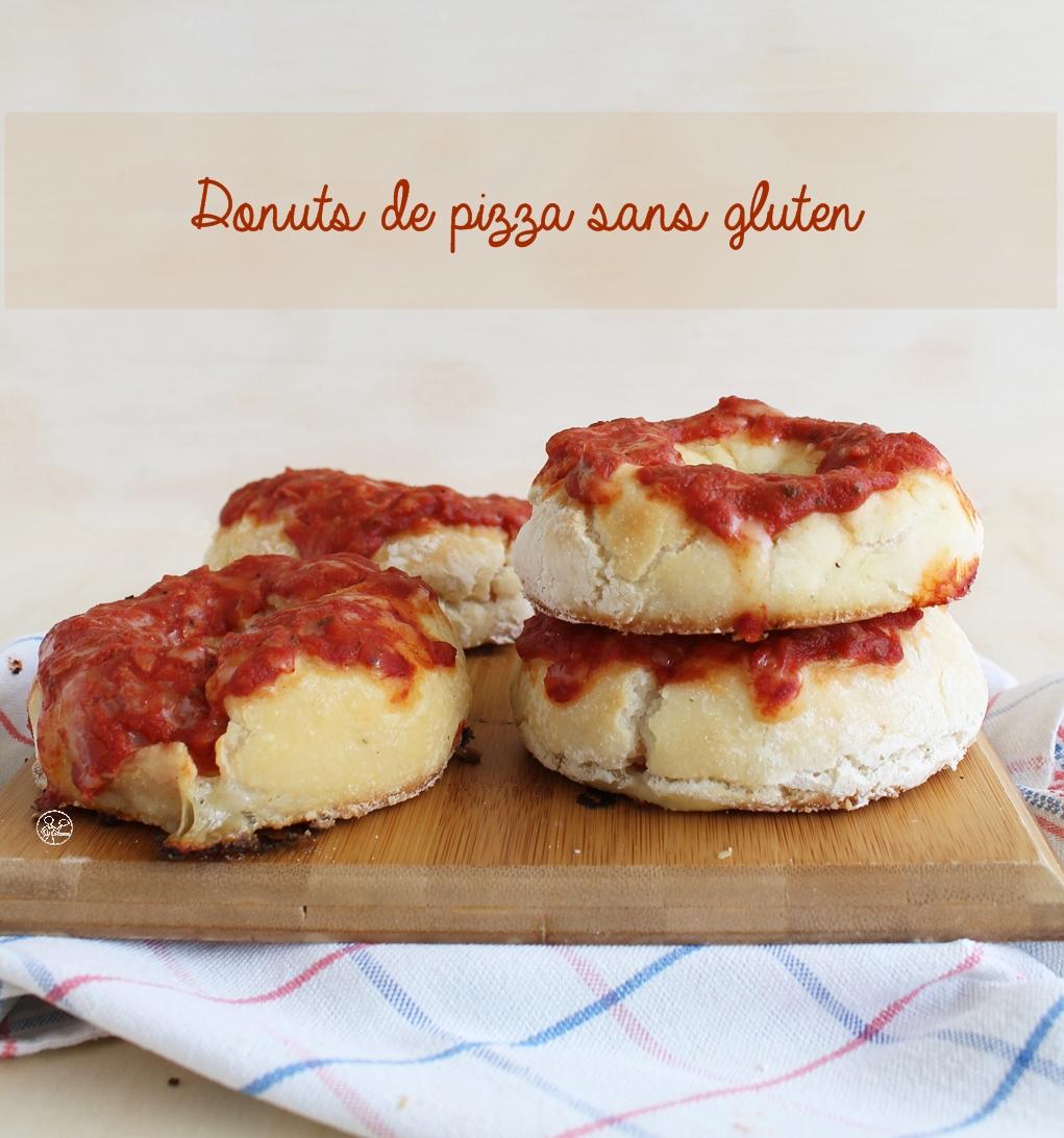 Donuts de pizza sans gluten - La Cassata