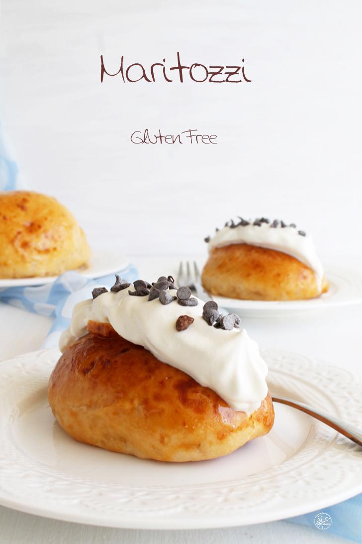 Maritozzi à la crème chantilly sans gluten - La Cassata Celiaca