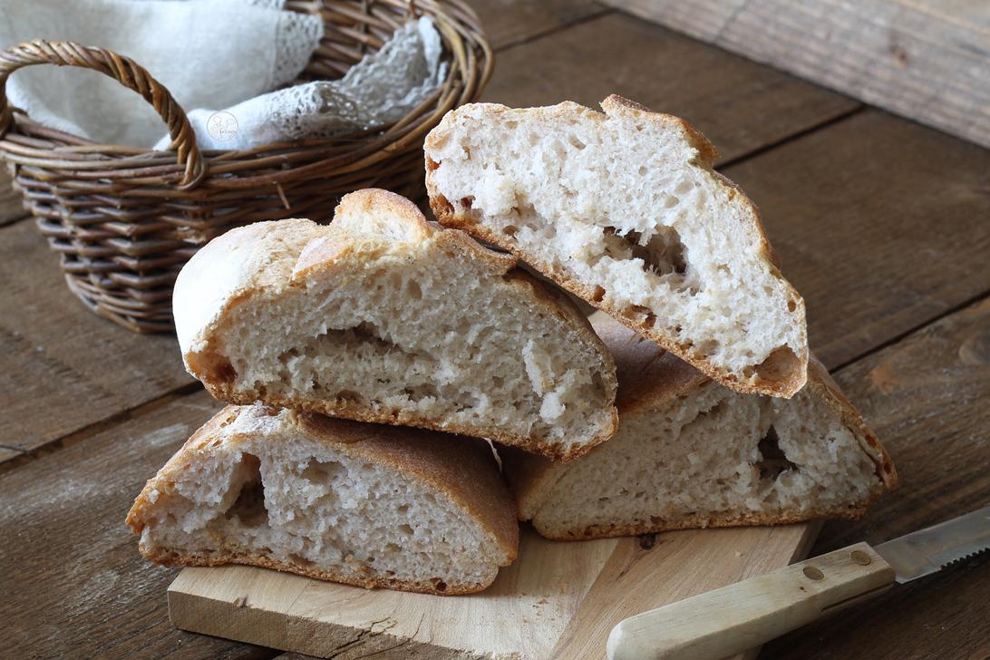 Pain sans gluten: languette-feuille et tressé - La Cassata Celiaca