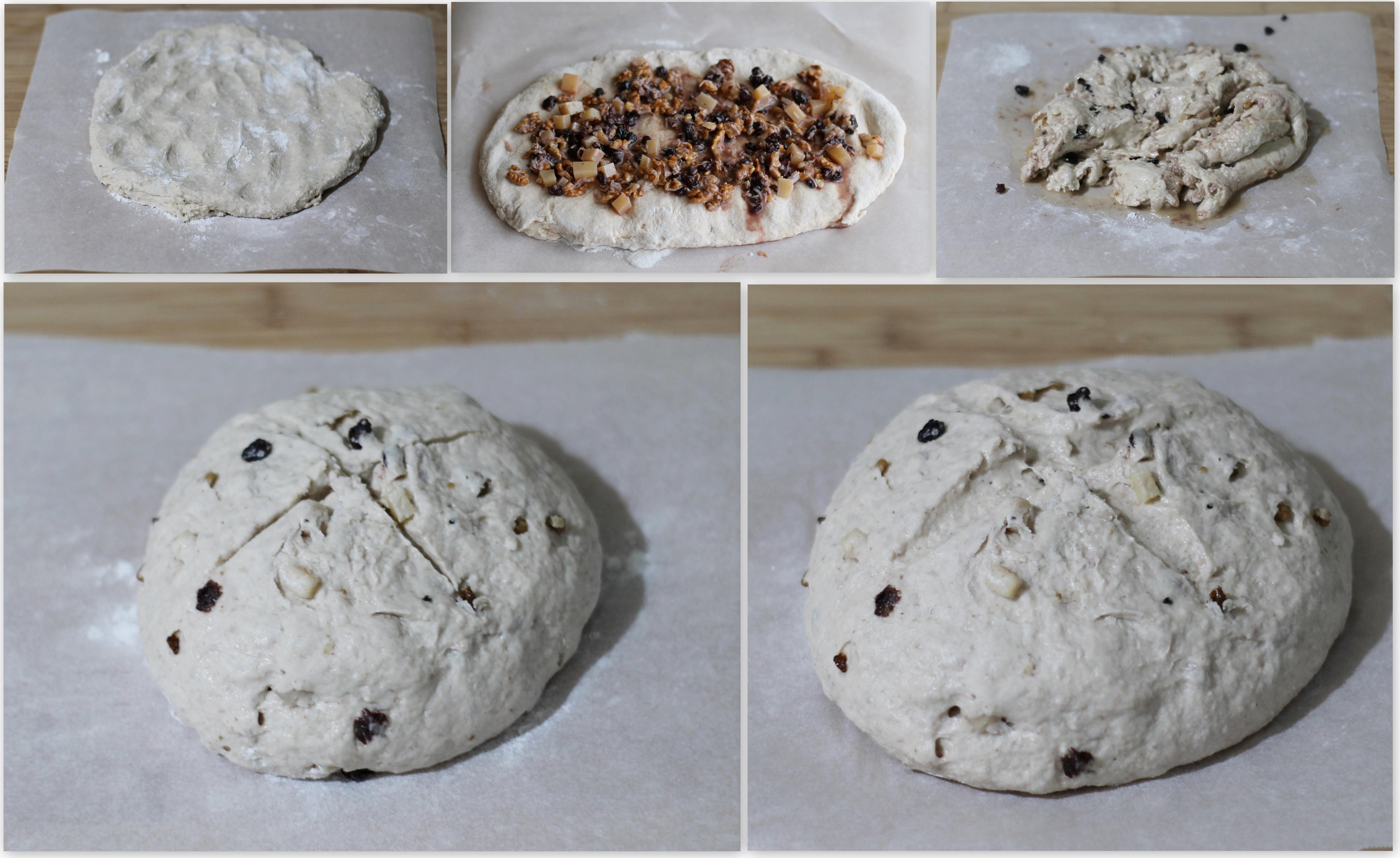Pain aux noix sans gluten - La Cassata Celiaca