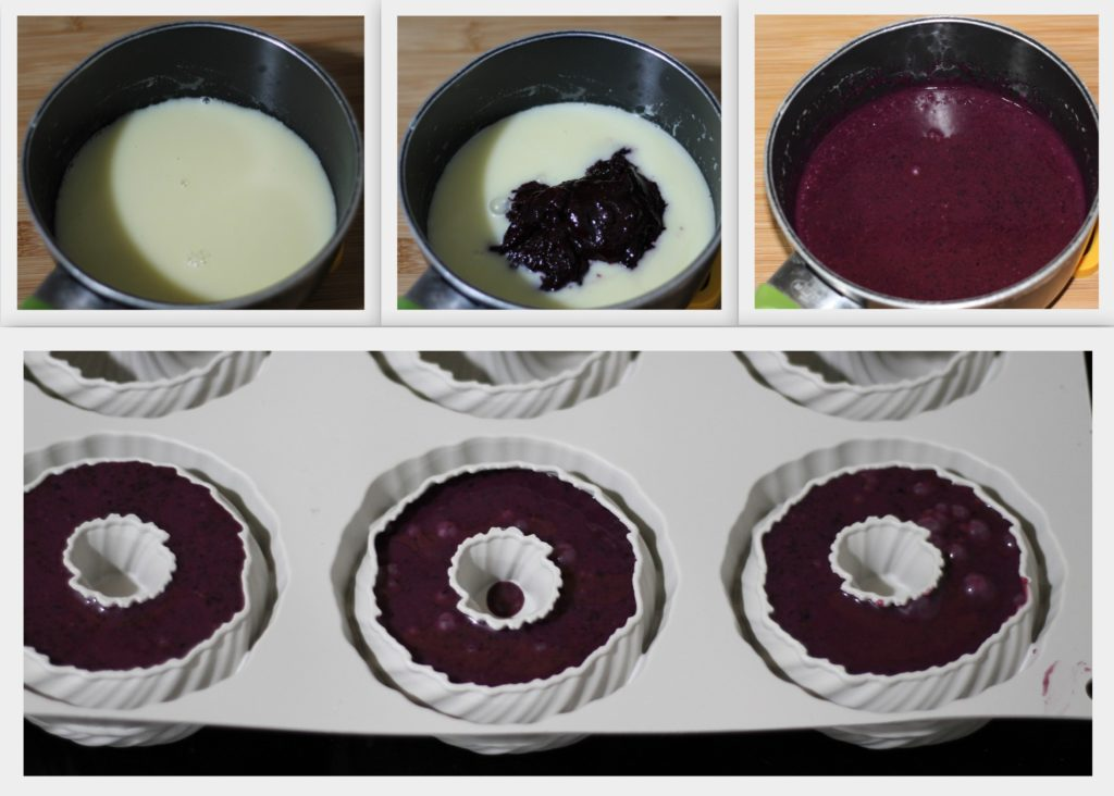 Panna cotta ai mirtilli senza glutine - La Cassata Celiaca