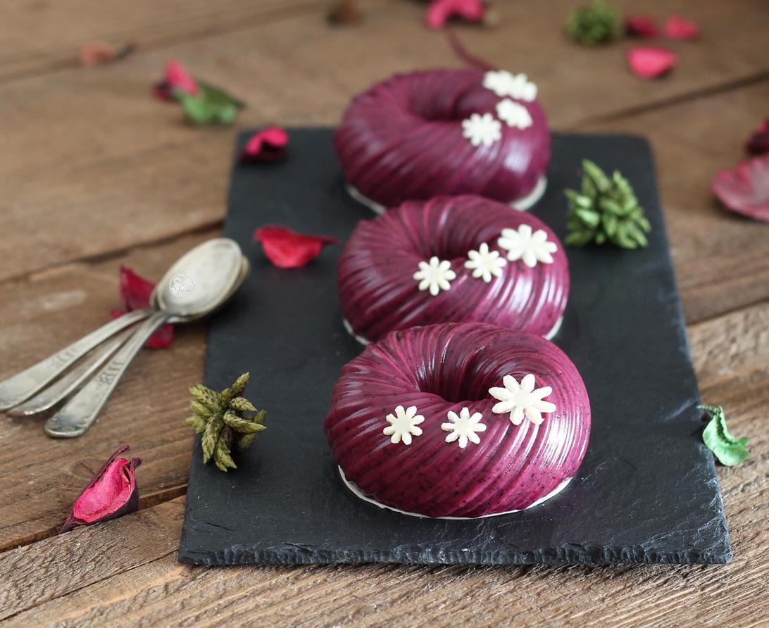 Panna cotta aux myrtilles sans gluten - La Cassata Celiaca