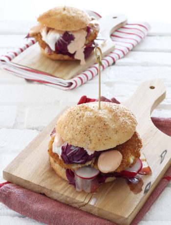 Spring burger sans gluten - La Cassata Celiaca