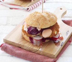Spring burger senza glutine - La Cassata Celiaca