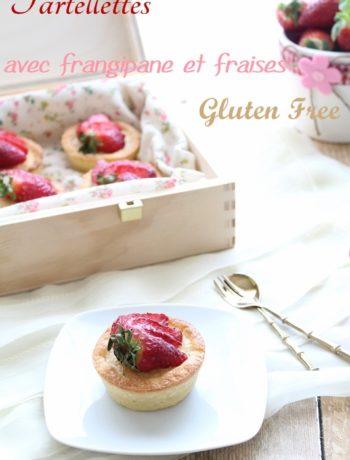 Tartelettes à la frangipane et fraises sans gluten - La Cassata