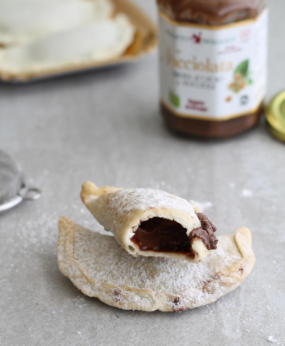 Cassatelle senza glutine con crema di nocciole - La Cassata Celiaca