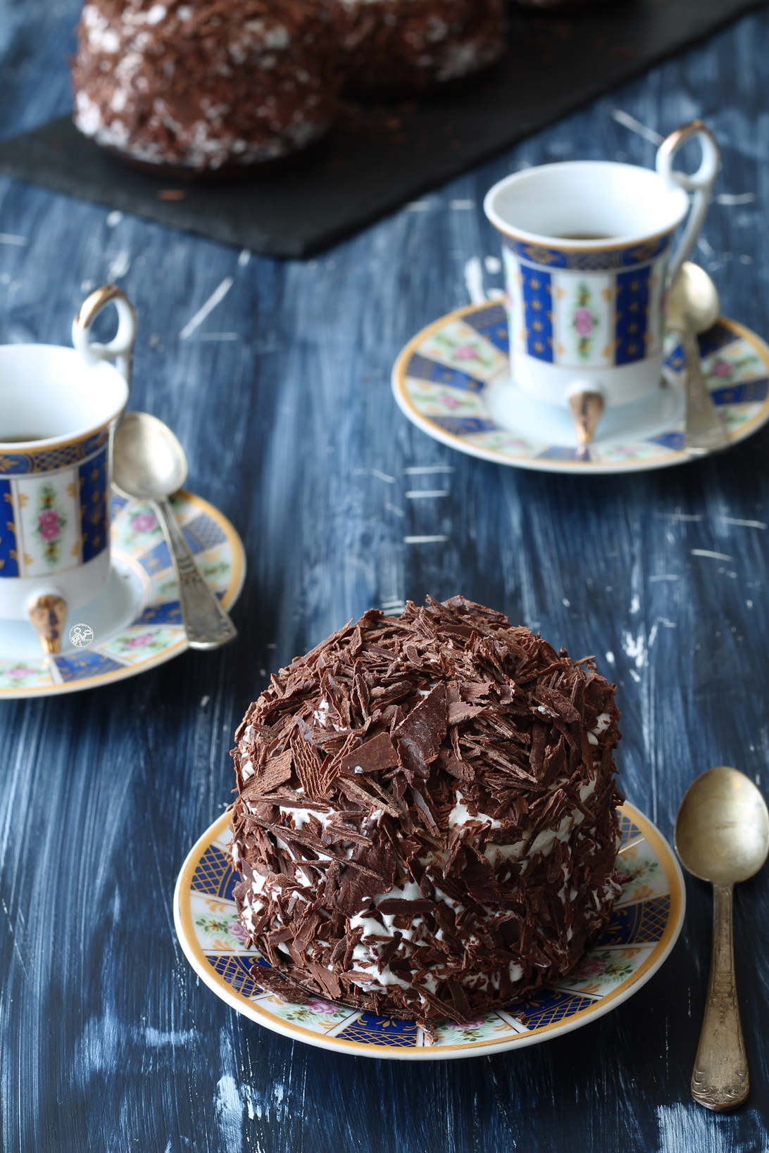 Merveilleux au chocolat sans gluten - La Cassata Celiaca