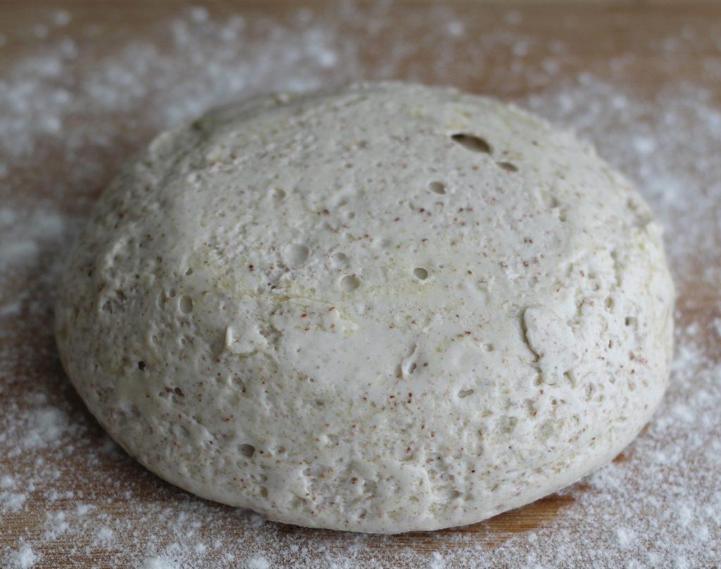 Pâte à pain gluten free