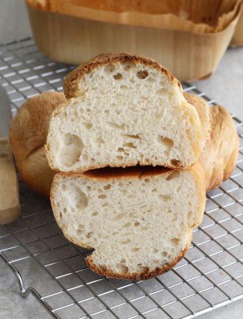 Tresse de pain au lait sans gluten - La Cassata Celiaca