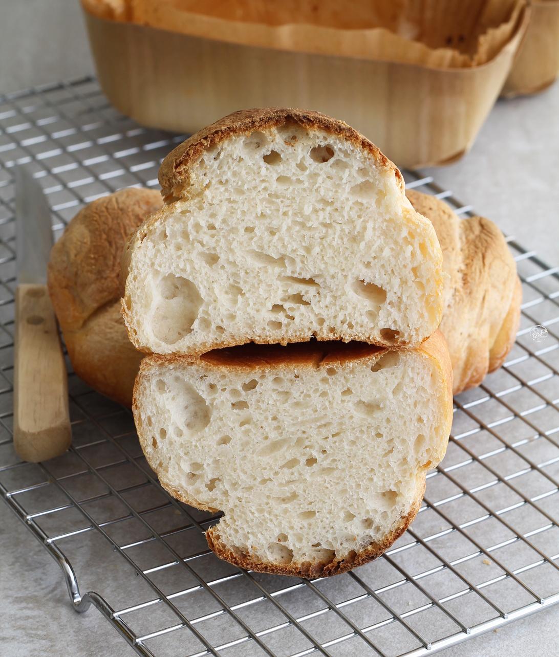 Treccia di pane al latte senza glutine - La Cassata Celiaca