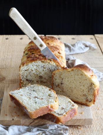 Brioche russe sans gluten avec noix et basilic - La Cassata Celiaca